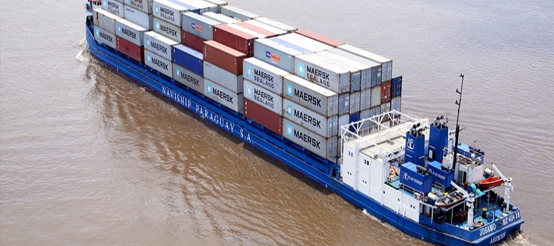 Paraguay River Container Throughput